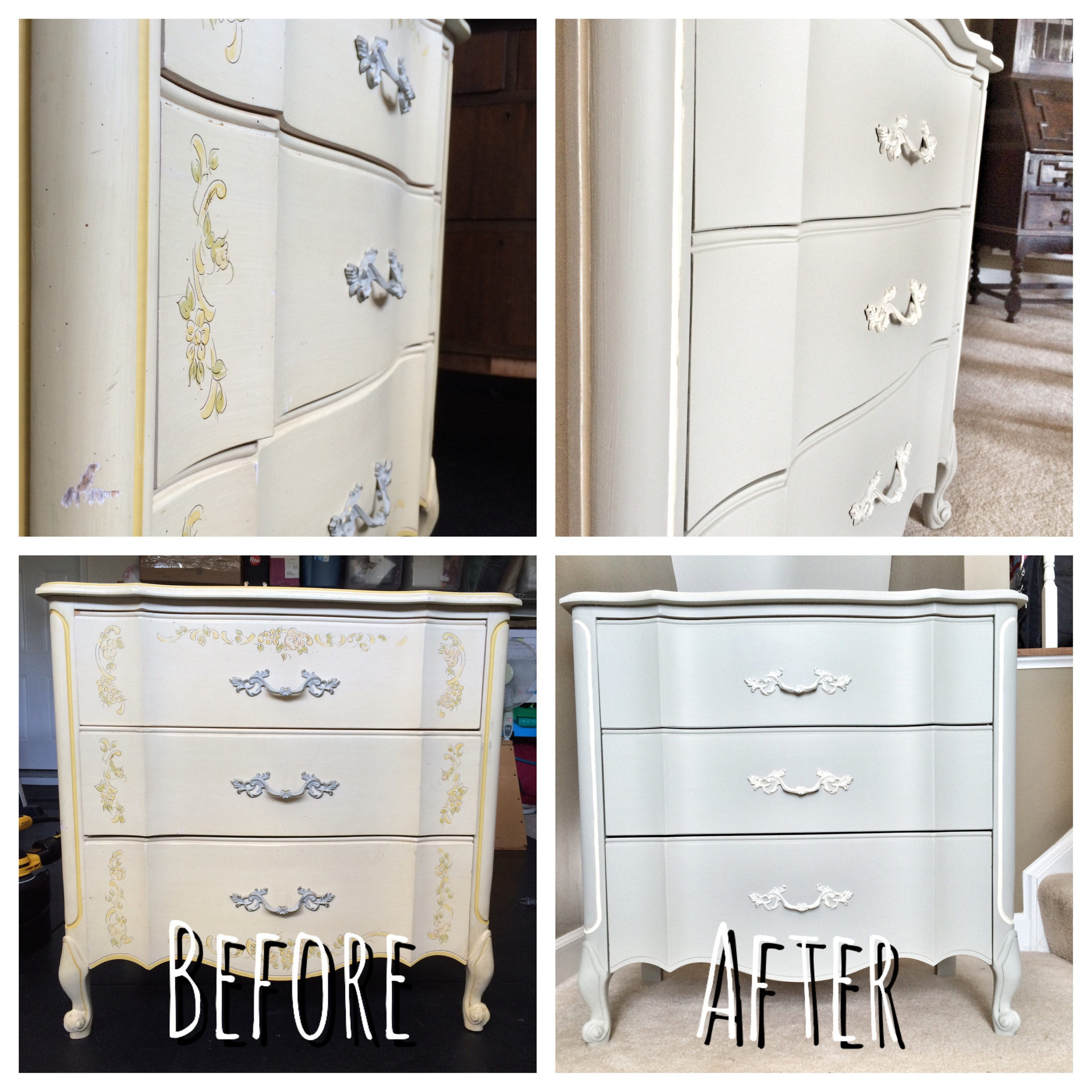 french provincial before and after